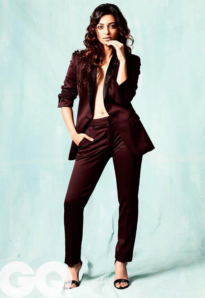 Radhika Apte hot photoshoot for GQ