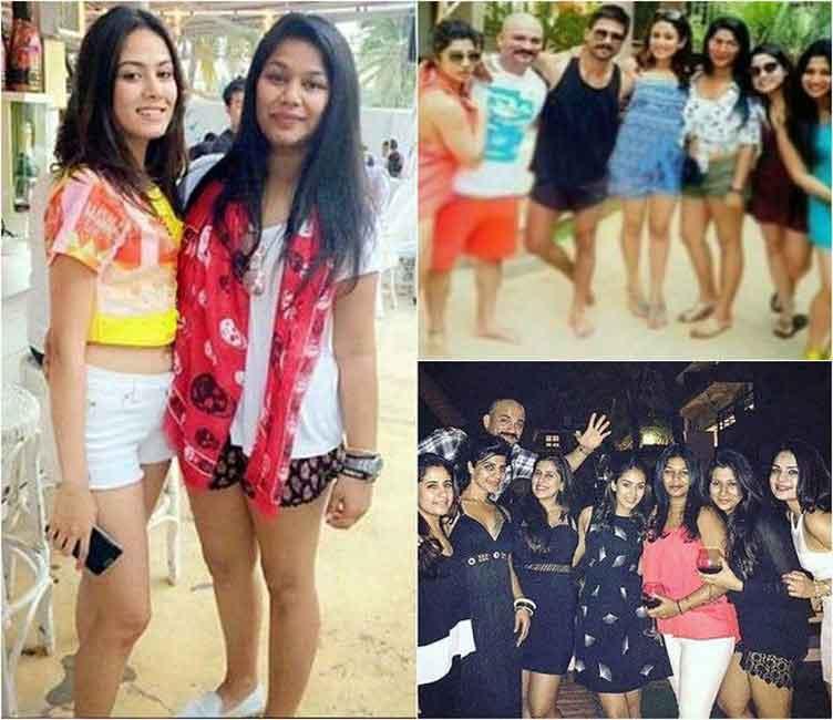 Shahid Mira celebrates new year in Goa