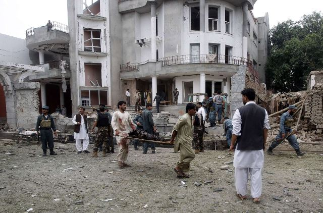 Blast reported near Pakistan consulate buildings in Jalalabad