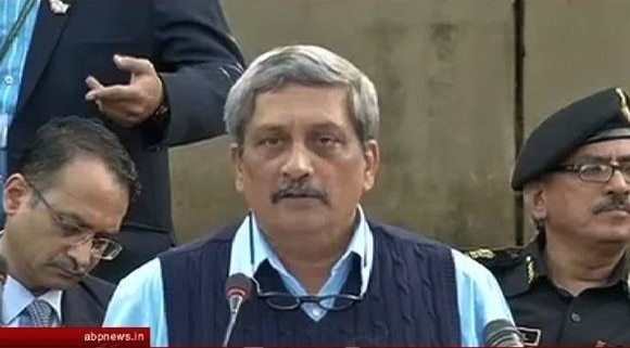 defence minister press conference on pathankot attack