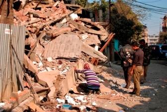 Major earthquake hits northeast India