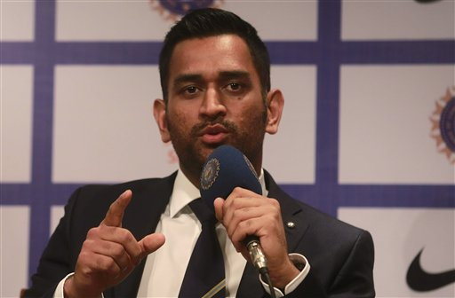 Dhoni takes responsibility for failed chase
