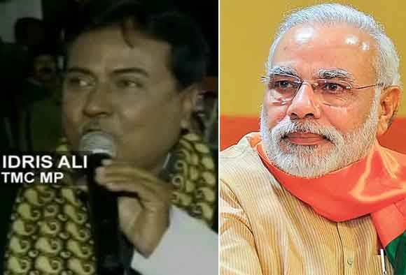 TMC warns Idris Ali after MP claims PM Modi has links with Pathankot terrorists