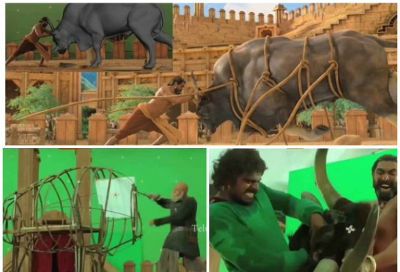 Making of Baahubali – Bull Fight Sequence