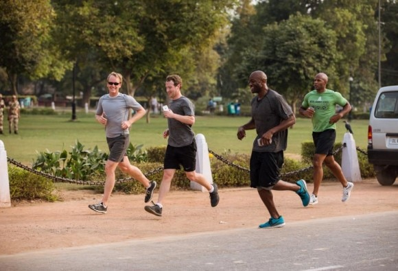 Mark Zuckerberg announces 'A Year of Running'; targets 587 km in 2016