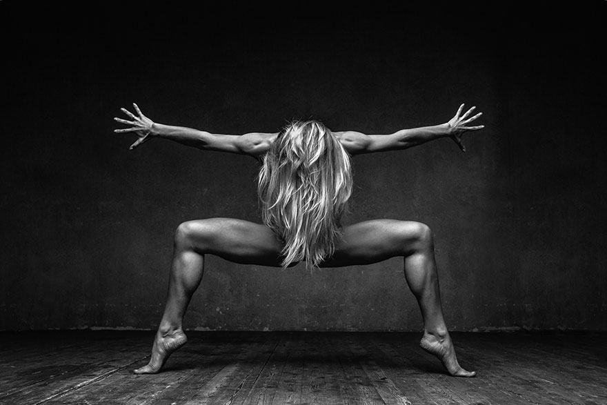 Explosive Dance Portraits By Alexander Yakovlev