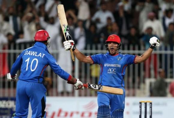 Afghanistan v Zimbabwe, 5th ODI, Sharjah