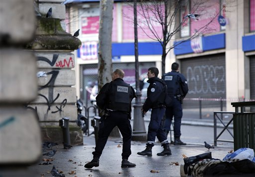 millitant attack on first anniversery of charlie hebdo