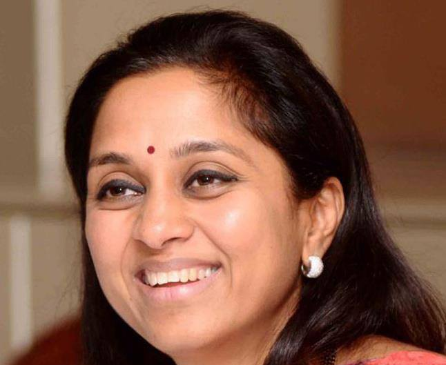 We Talk Saris and fashion In Parliament says Supriya Sule