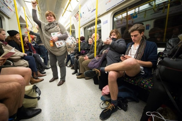 No Trousers Tube Ride 2016