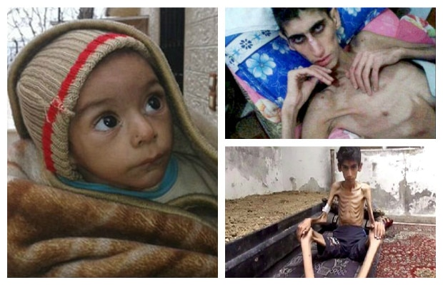 New photos show the suffering in western Syrian city