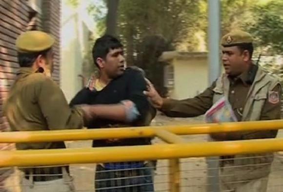 Police detain activists protesting against Ram Janmbhoomi seminar in Delhi University