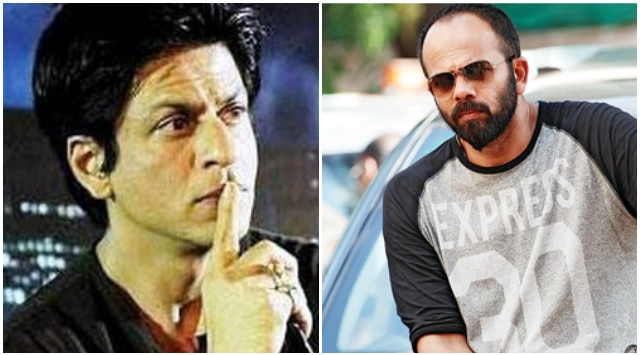 Shah Rukh Khan and Rohit shetty fight on dilwale