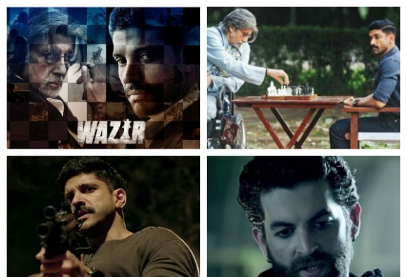 BOX OFFICE: Wazir 4th day collection