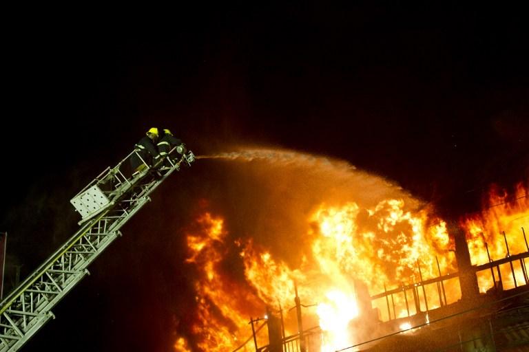Market fire in Myanmar's Yangon destroys over 1,600 shops