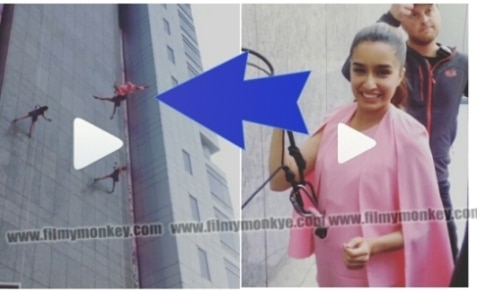 WATCH SHRADDHA'S GRAVITY-DEFYING STUNT AT 34TH FLOOR