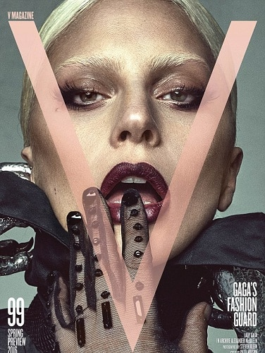 Lady Gaga and Taylor Kinney pose naked for a V Magazine cover