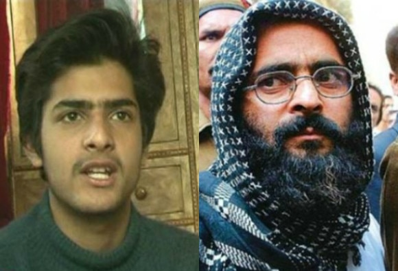 Afzal Guru's son interview after scoring 95% marks