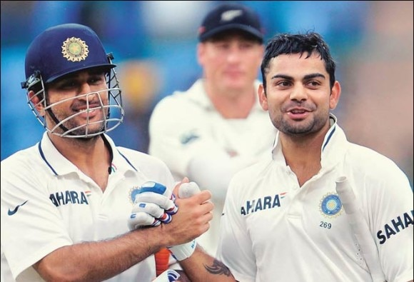 All hell only breaks loose when tracks offer turn: Dhoni