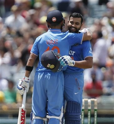 Rohit-Virat Breaks big partnership Record