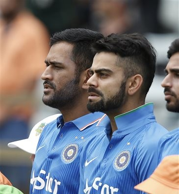 Team India scores 309 runs in 1st ODI