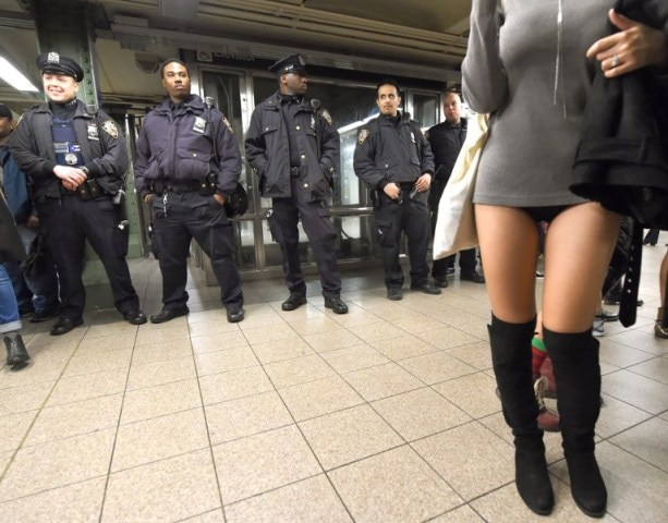 Tens Of Thousands Celebrate 'No Pants Subway Ride'