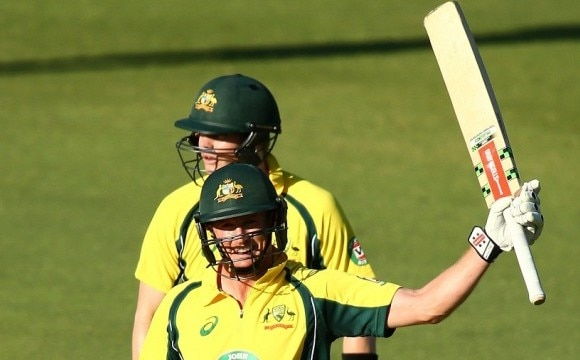 australia beat india in first one day