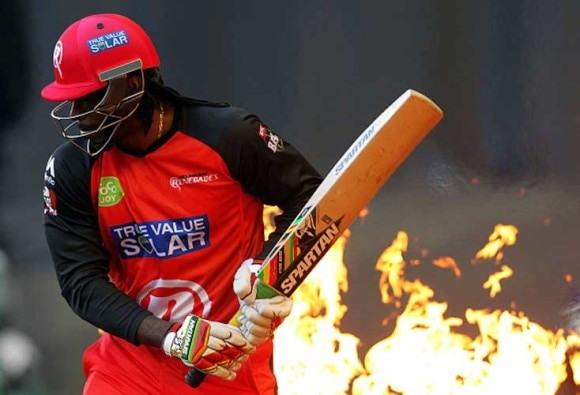 Chris Gayle under fire again for BBL no-run
