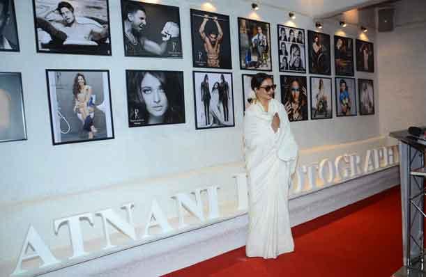 Rekha during annual calendar launch of Fashion Photographer Dabboo Ratnani in Mumbai