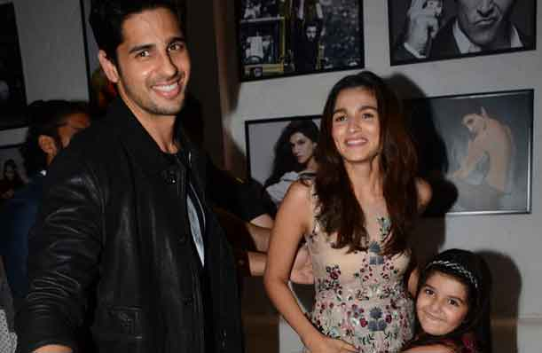 Photos: Awww! Sidharth Malhotra Cannot Stop Hugging Alia Bhatt!