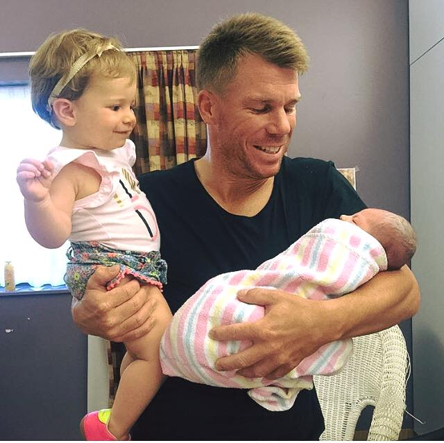 Candice and David Warner announce birth of baby daughter Indi Rae