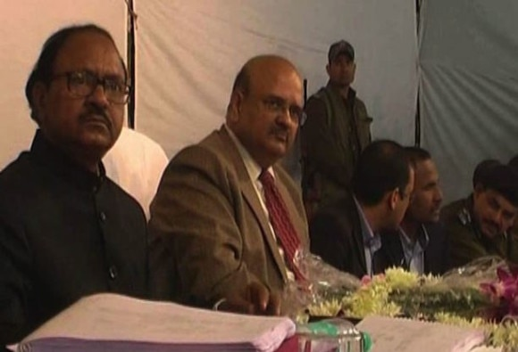 Controversy Over UP Chief Secretary's night stay in Banda