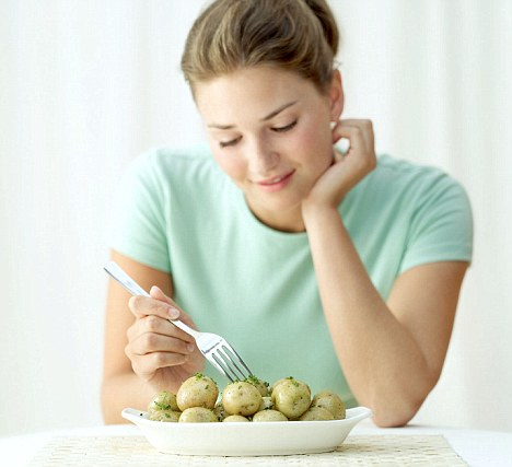 Potato-rich diet 'may increase pregnancy diabetes risk