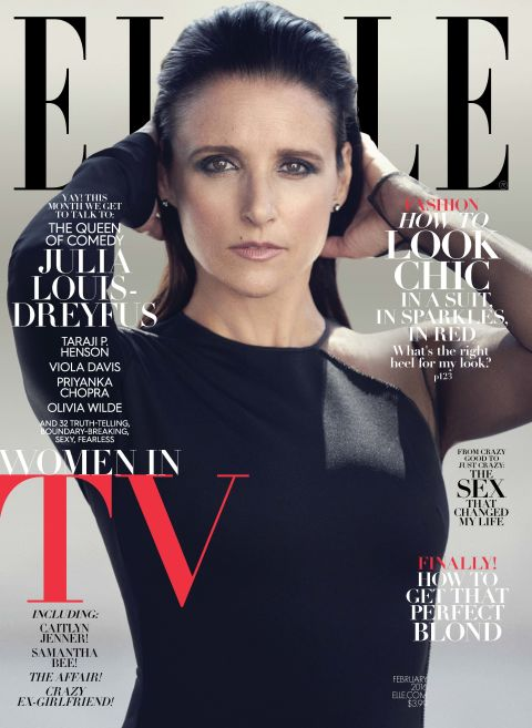 Elle Magazine Women in TV 2016 Covers