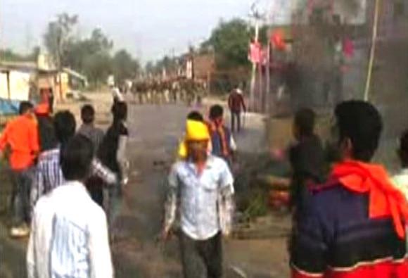 Communal violence over Ram Mandir model in UP