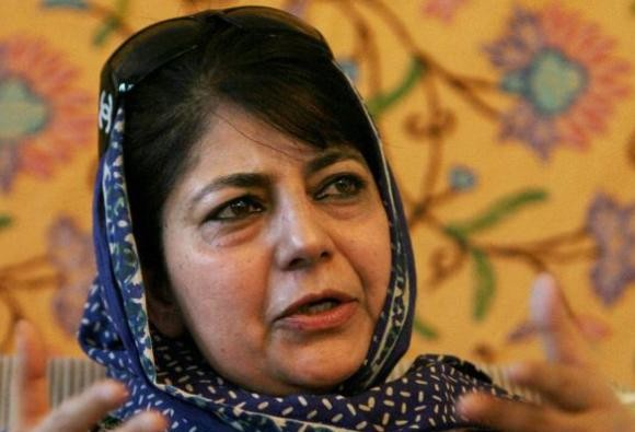 mehbooba mufti selected cm candidate of pdp