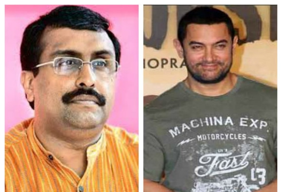 Bjp leader Ram madhav statement on Aamir khan