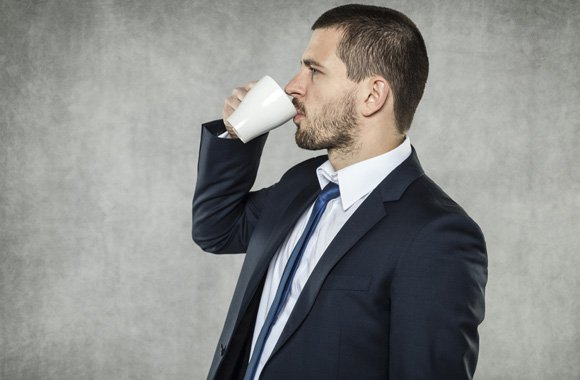 A cup of coffee can help stick to fitness regime
