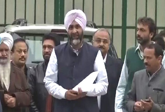 Manpreet Badal Join Congress