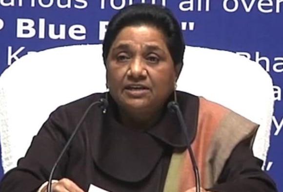 Arrest of Kanhaiya Kumar a conspiracy of RSS: Mayawati
