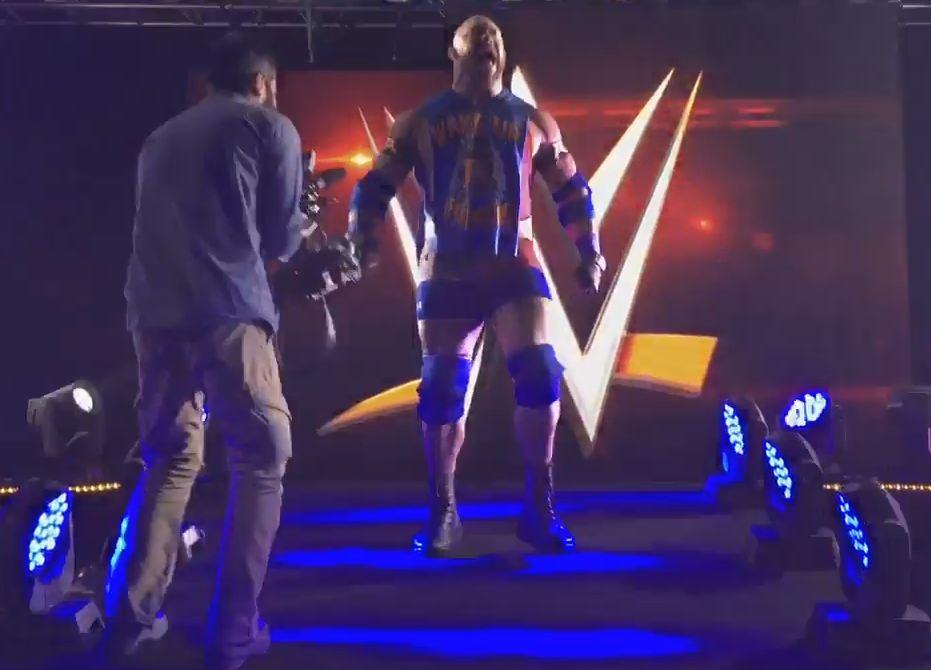 WWE Stars in India