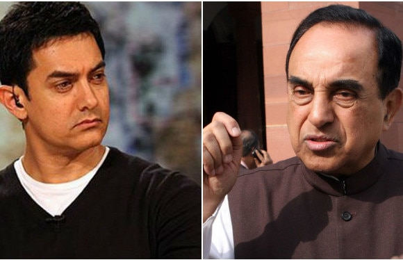 Now, Swamy alleges that Aamir collaborated with ISI to promote 'PK'