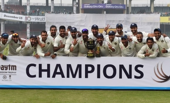 After 5 years Team India no. 1 in ICC Test Rankings