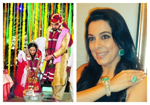 Pooja bedi tweets on 4th marriage of her father