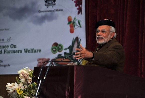 sikkim: PM Modi in conference of agriculture ministers