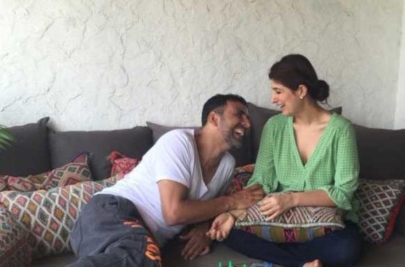 Akshay gave me a blank look on anniversary: Twinkle