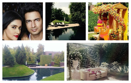 Photos of luxury hotel where asin will be getting married to rahul sharma today