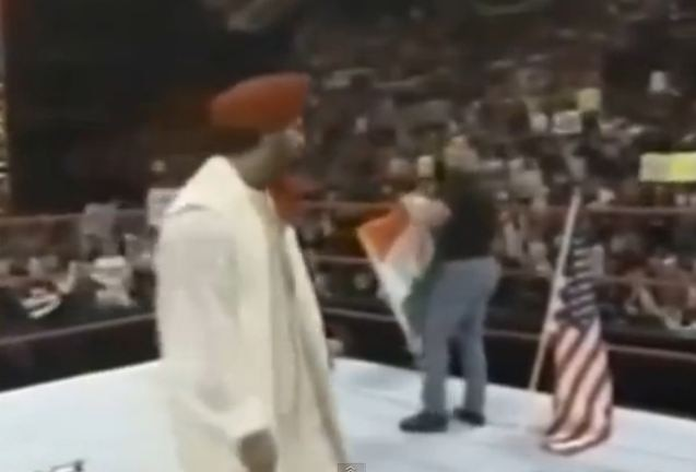 WWE President apologises to India for disrespect to the National Flag