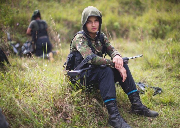 rare pics of Colombia Rebel Camp