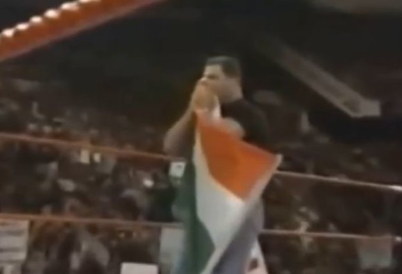 VIDEO: WWE president apologises for disrespecting Indian flag after 18 years
